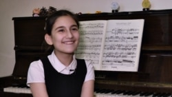 'Music Is Everything': Armenian Preteen Pianist Poised For Classical Career