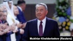 Нурсултан Назарбаев на инаугурации Касыма-Жомарта Токаева, 12 июня 2019 года
