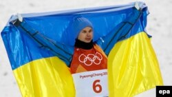 Український олімпійський чемпіон Олександр Абраменко, 18 лютого 2018 року