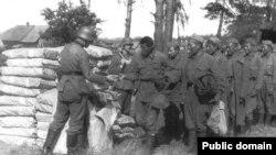 Попавшие в немецкий плен в годы Второй мировой войны военнослужащие Красной армии.