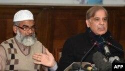 شهباز شریف وزیر اعلی ایالت پنجاب پاکستان و پدر زینب انصاری