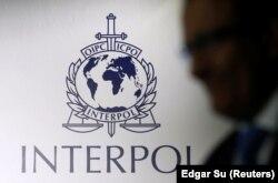 Логотип Интерпола. Иллюстративное фото.
