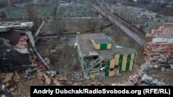 Разрушения в Авдеевке