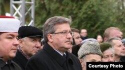 Польшада татар гаскәренә һәйкәл ачылды