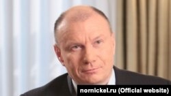 Vladimir Potanin was listed as Russia's richest person with an estimated net worth of $28.2 billion, according to Bloomberg's index of billionaires.