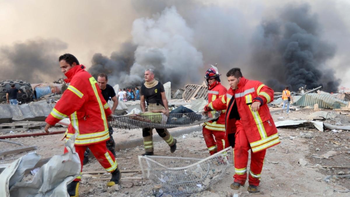 По меньшей мере 2200 человек ранены в результате взрывов в Бейруте - ливанский Красный Крест