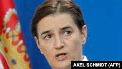 Predsednica Vlade Srbije Ana Brnabić