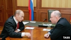 Владимир Путин и Владимир Потанин