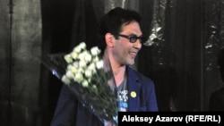 Актер и режиссер Кубанычбек Адылов. Алматы, 7 апреля 2013 года.