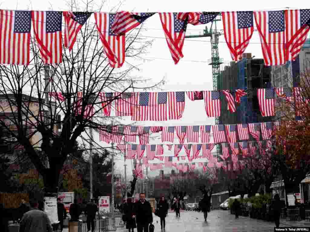 Kështu dukej Prishtina në Ditën e Falënderimeve...