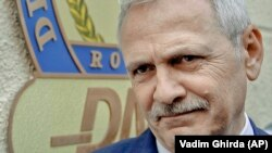Liviu Dragnea is the leader of Romania's ruling Social Democratic party. (file photo)