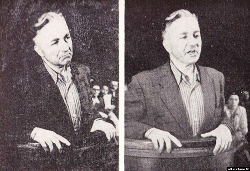 """Това са снимки на Никола Петков в последните дни от живота му. След 9 септември 1944 г. Българската комунистическа партия (БКП) постепенно се обявява за единствен борец с фашизма и нацизма. Антинацистката опозиция, която е извън БКП, е обявена за точно обратното на нейната същност - за """"фашистки елемент"""". Освен че е невярно, това за десетилетия напред я приравнява към политиците, някога подписали съюза с нацистка Германия. През 1947 г. Никола Петков е обявен от пропагандата за контрареволюционер и е обесен след режисиран съдебен процес."""