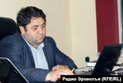 "МахIамад БисавгIалиев, ""Миллат"" газеталъул бетIерав редактор"