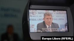 Mihai Ghimpu, în monitorul camerei de filmat