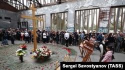 13-я годовщина трагедии в школе №1, Беслан. 1 сентября 2017 года.