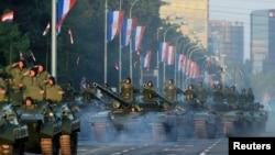Військовий парад на День перемоги і подяки вітчизні з нагоди двадцятої річниці операції «Буря». Загреб, 4 серпня 2015 року