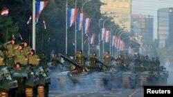 Mimohod u Zagrebu na Dan pobjede, kolovoz 2015