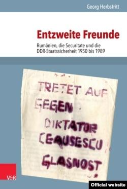 "Georg Herbstritt: ""Prieteni dezbinaţi"", 2016 (coperta)"