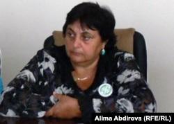 Галина Чернова, председатель центра эколого-правовой инициативы «Глобус» города Атырау.