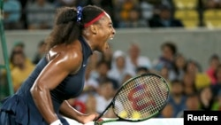 Американская теннисистка Серена Уильямс.