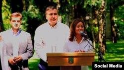Михаил Саакашвили назначил российского оппозиционного политика Марию Гайдар замгубернатором Одесской области, 18 июля 2015