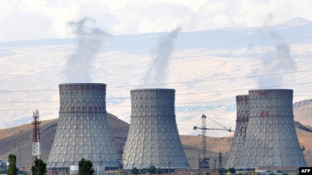 Armenia -- The Metsamor power plant outside Yerevan, 26Sep2010