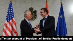 Ron Džonson i Aleksandar Vučić