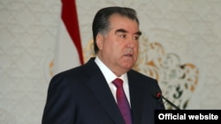 Tajik President Emomali Rahmon has led the country since 1992.