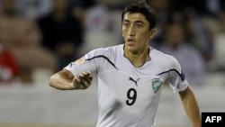 Futbol bo'yicha O'zbekiston milliy terma jamoasi Odil Ahmedov.