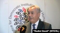 Низомиддин Зохиди, первый замглавы МИД Таджикистана