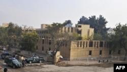 هتل پنج ستاره سرینا در مرکز کابل به محاصره نیروهای پلیس افغانستان درآمده است