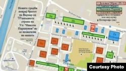 Детален урбанистички план за населбата Карпош 4 во Скопје.