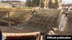 Открытие моста должно было состояться в ближайшие дни
