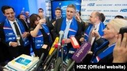 HDZ proslavlja izbornu pobjedu