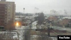 Так выглядел обстрел Краматорска из окна Юлии