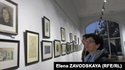 На первой персональной выставка художника представлено 177 работ из фондов Национальной картинной галереи
