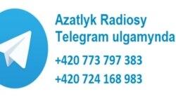 Azatlyk Radiosy Telegram ulgamynda