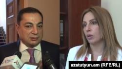 Армения парламентинин депутаттары.