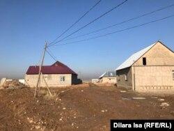 Дома в селе Катын Копир под Шымкентом. 2 декабря 2018 года.