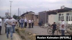 Снос домов в Джалал-Абаде.