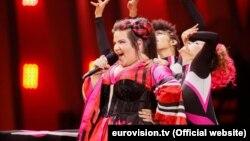 """""""Евровидение-2018"""" халықаралық ән байқауының жеңімпазы Нетта Барзилай."""