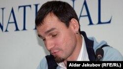 Александр Габченко в бытность продюсером портала Stan.kz. Алматы, 13 октября 2010 года.