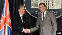 Filip Hamond sa Aleksandrom Vučićem u Beogradu