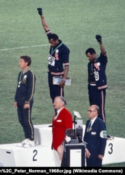 Protest američkih atletičara