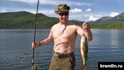 Улов Владимира Путина