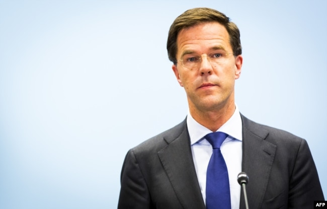 Dutch Prime Minister Mark Rutte (file photo)