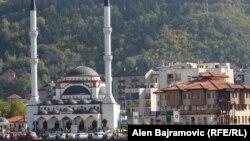 Kajserija džamija u Goraždu, arhivska fotografija