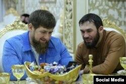 Рамзан Кадыров и Магомед Даудов (по кличке Лорд)