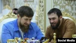"""Рамзан Кадыров и Магомед Даудов (по кличке """"Лорд""""). Фото - из инстаграма Даудова"""