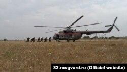Учения Росгвардии в Крыму